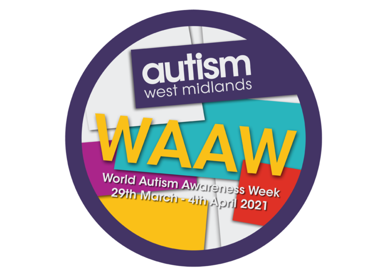 Graphic for World Autism Awareness Week 2021